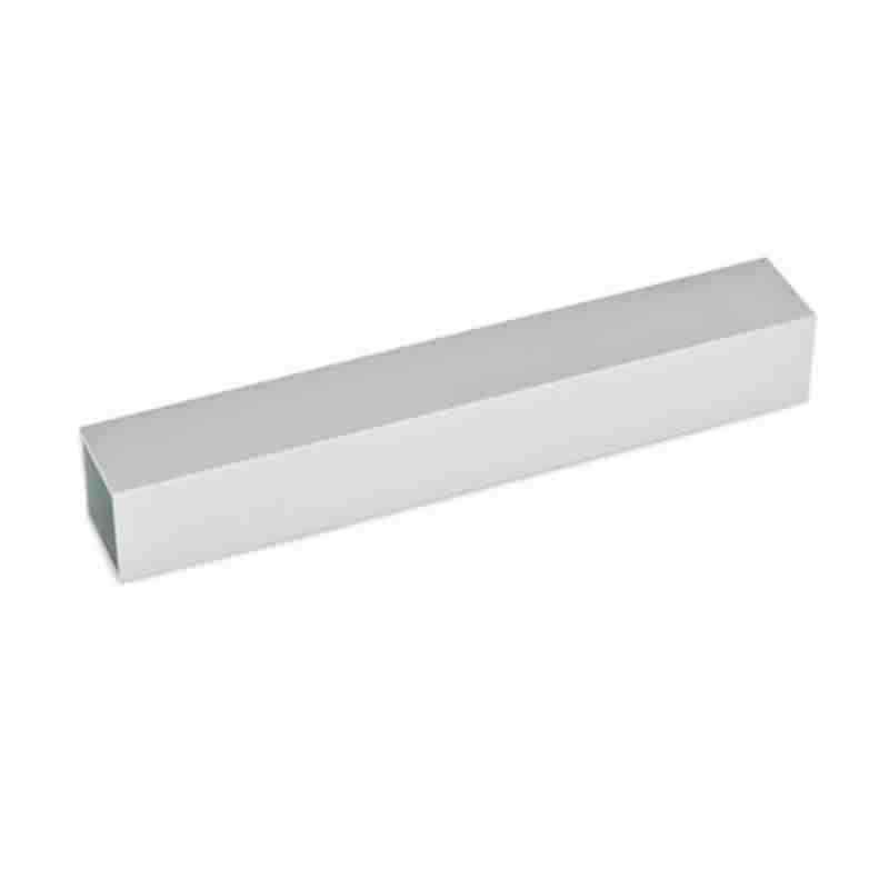Konstruktionsrohre, vierkant, Aluminium
