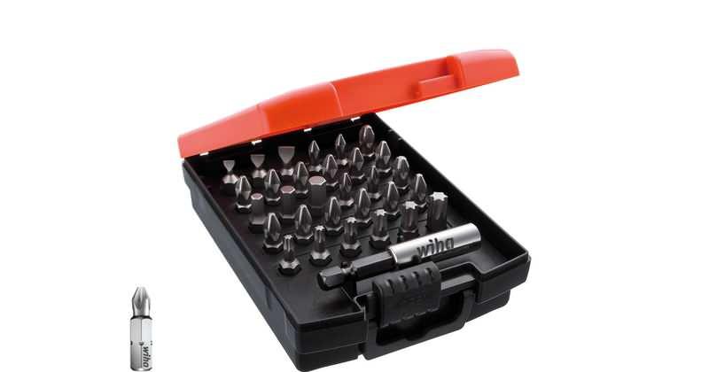 """Wiha Bit Set Standard 25 mm gemischt 31-tlg. 1/4"""" in Box"""