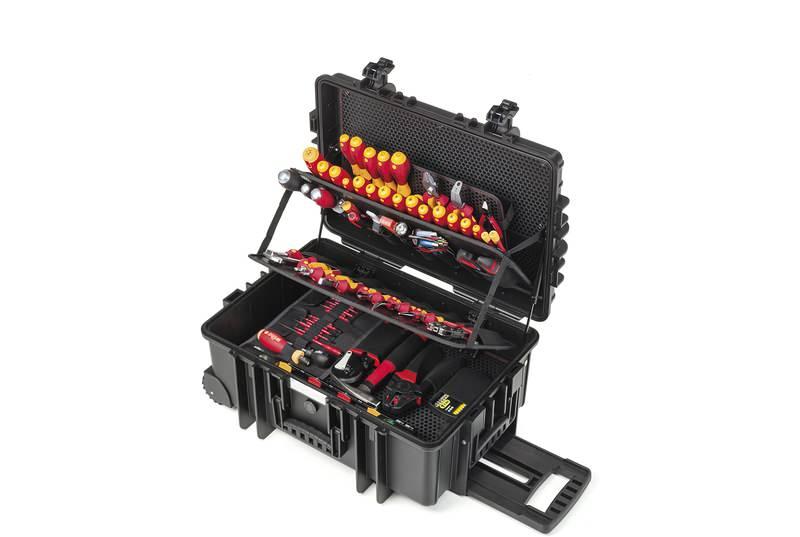 Wiha Werkzeug Set Elektriker Competence XXL II gemischt 115-tlg. in Koffer