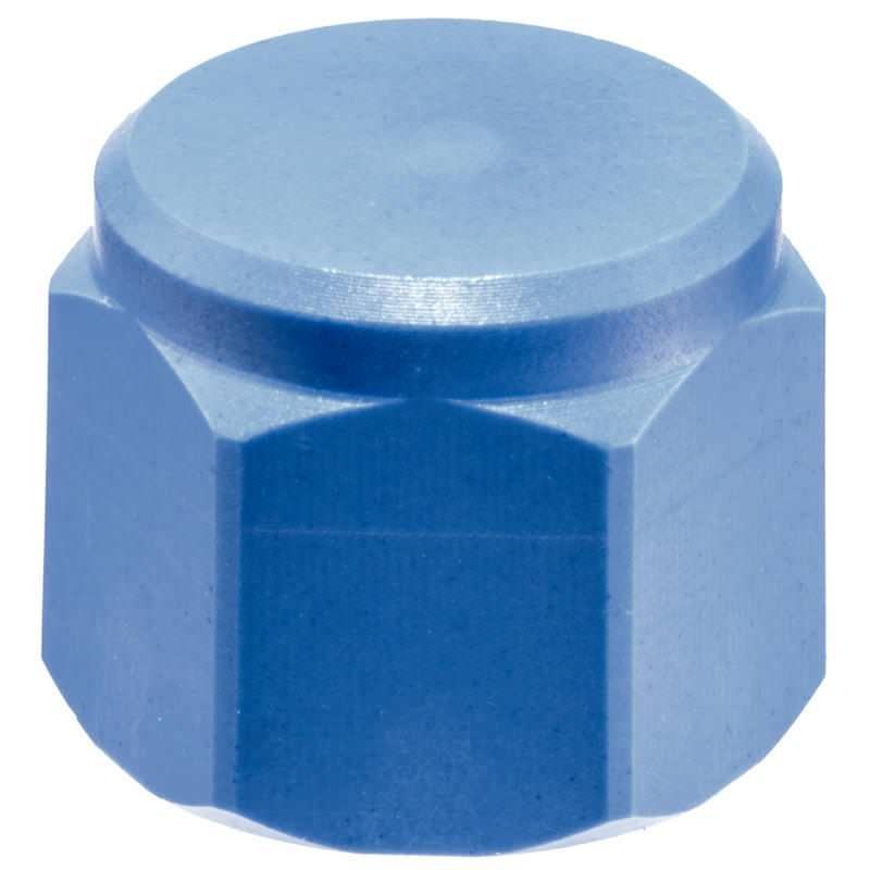Bolzen, mit Kunststoff-Auflagefläche, mit Innengewinde, Grundkörper aus Kunststoff (PEEK), Auflagefläche plan