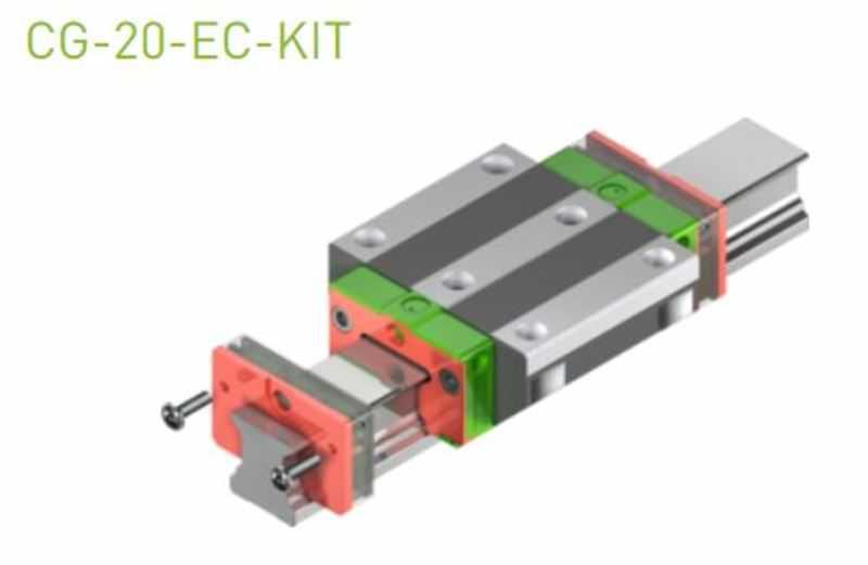 EC-Set für 20er Laufwagen SS/SW ohne Abdeckband & Standard-Öl