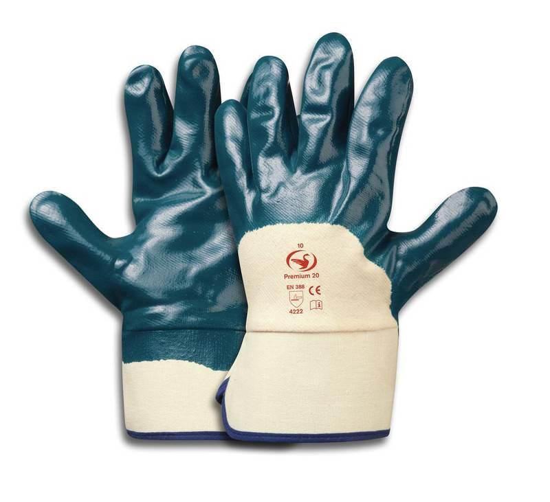 Nitril-Handschuh Premium 20, Größe 10