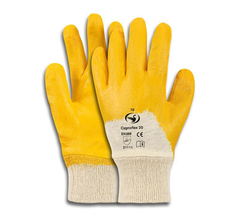 Nitril-Handschuh Cygnoflex 20