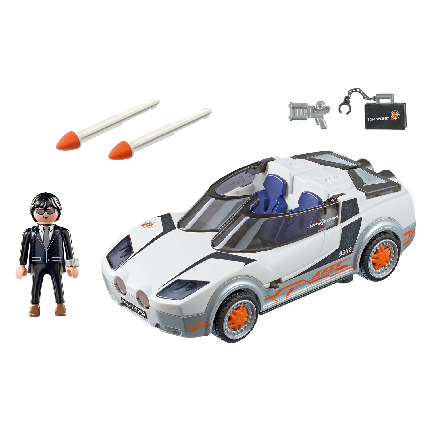 playmobil top agents agent ps spy racer 9252  babyjoech