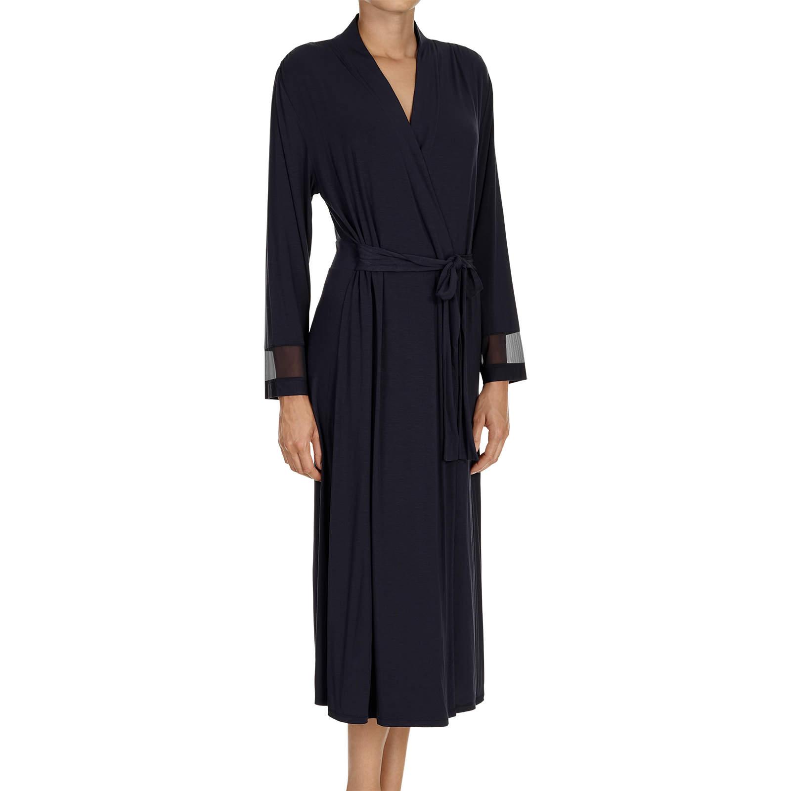 robe de chambre 171dylana187 in bleu fonc233 loungewear