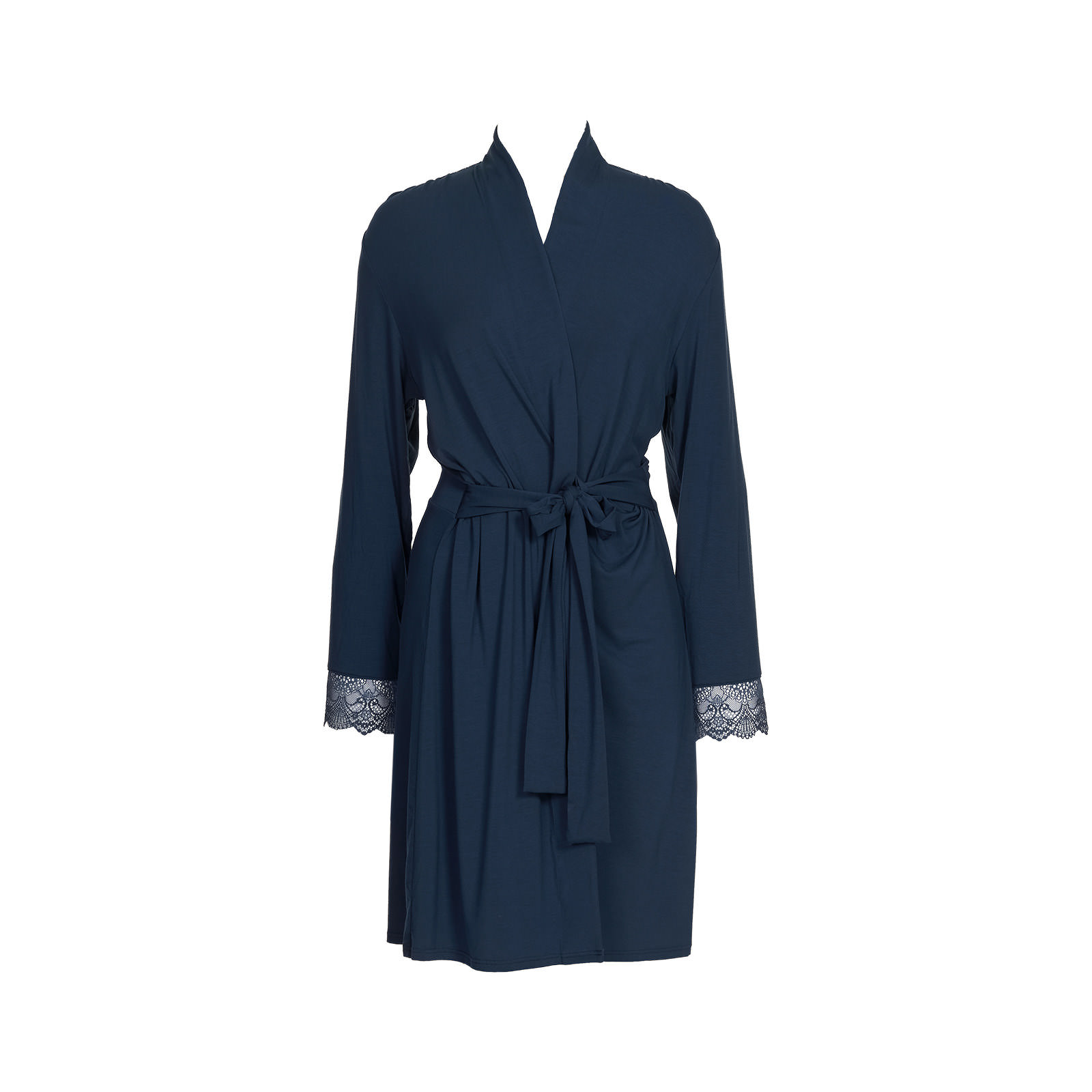 robe de chambre 171tiffany187 in bleu fonc233 loungewear