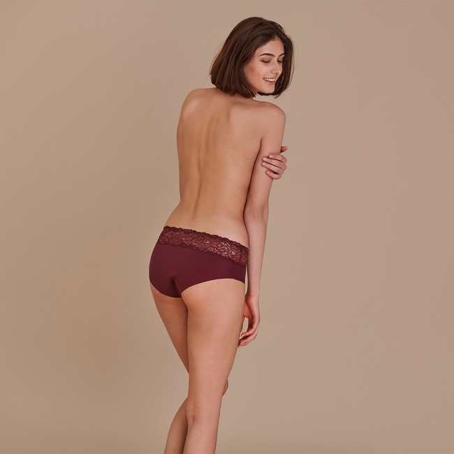PANTY «COZY BEAUTY» Violett