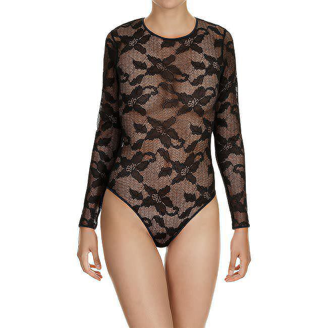BODY «CK BLACK LILY LACE» Schwarz