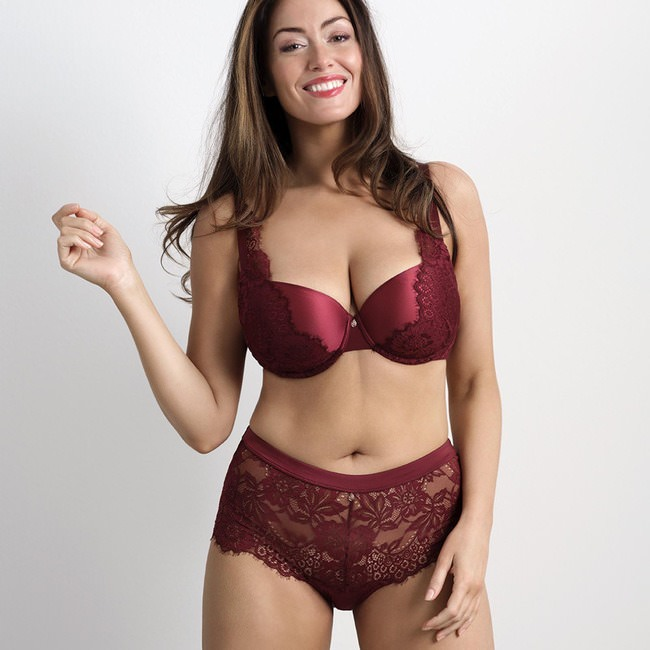 HW STRING «FAYOLA» Bordeaux