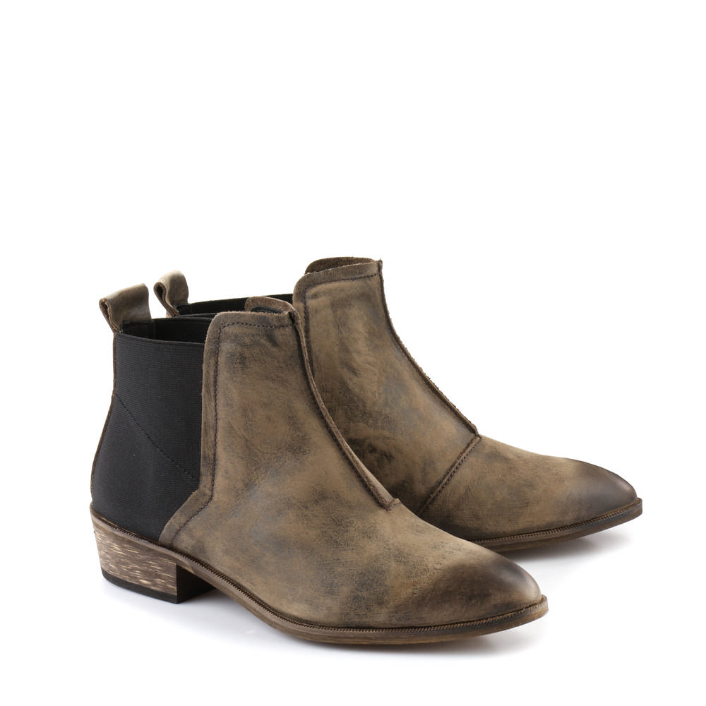 Buffalo Booties in braun