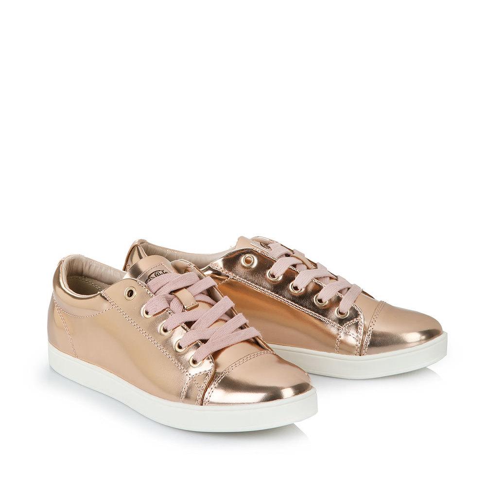 Sneaker in bronze