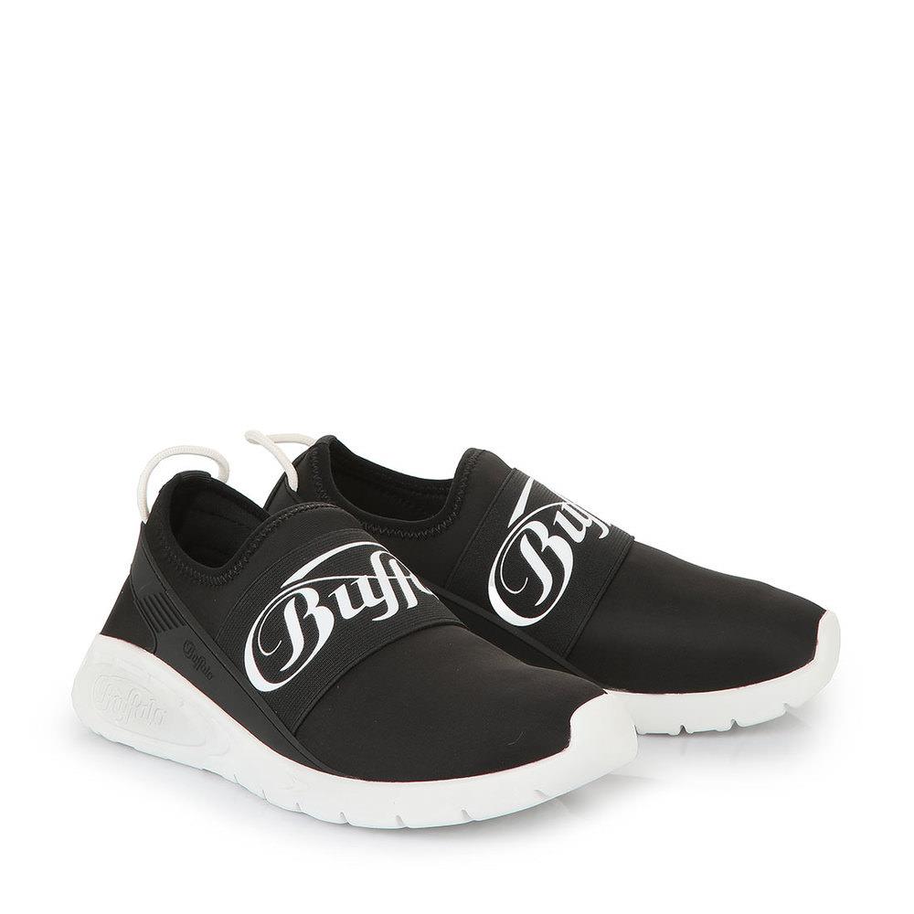 Wiesengrund Angebote Buffalo Athleisure Sneaker in schwarz/weiß