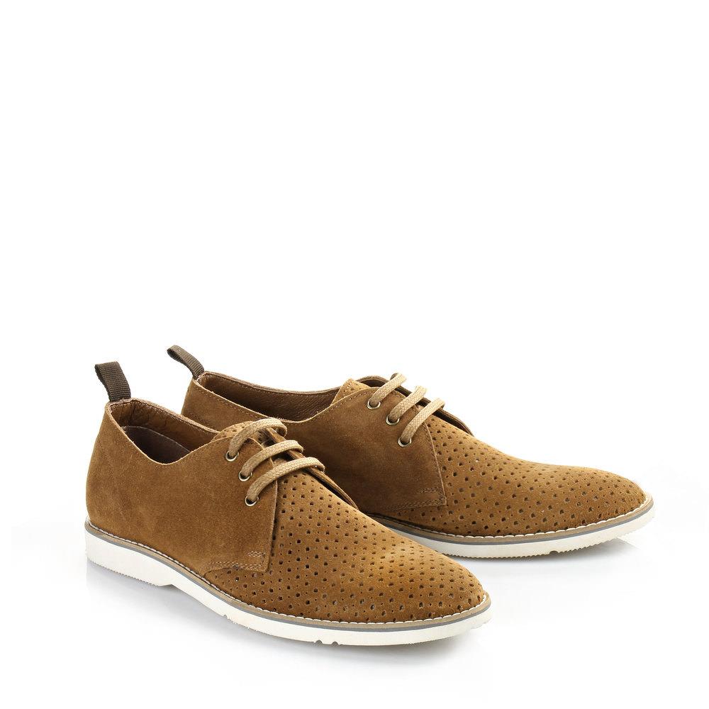 Chaussures à lacets Buffalo, cognac