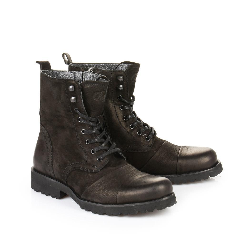 Boots Buffalo pour homme, noir
