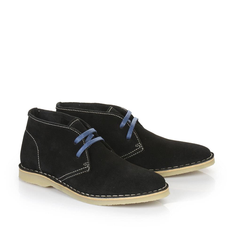 Buffalo Desert Boots in schwarz