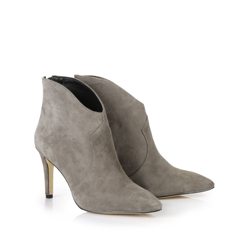 Buffalo Ankle Boots in grau