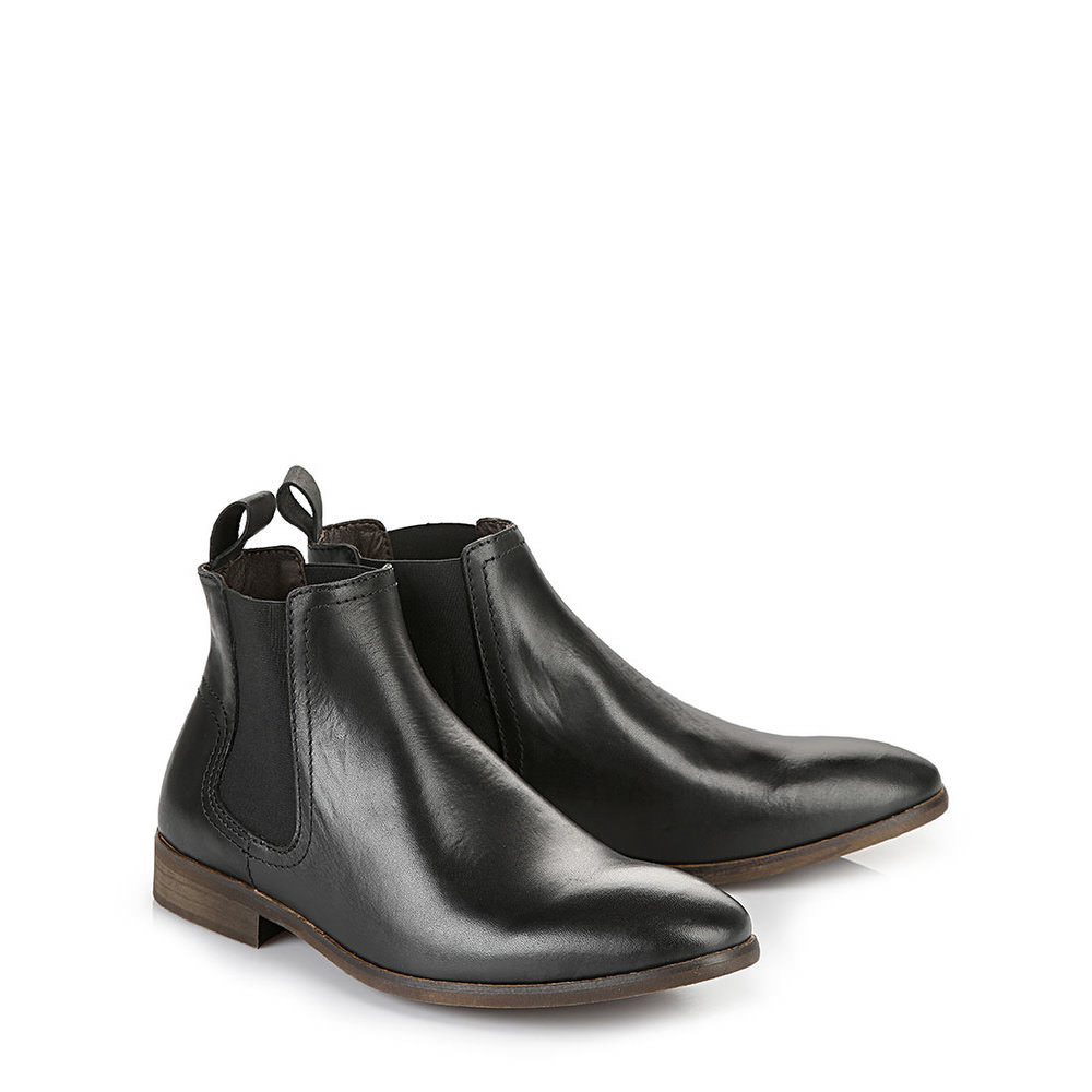 Booties Buffalo noires hommes
