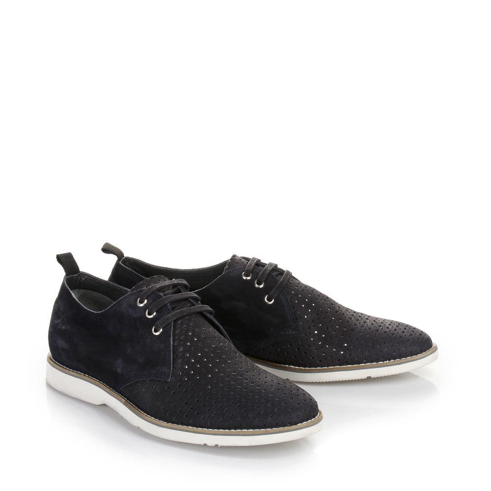 Chaussures à lacets pour homme Buffalo, BLEU FONCÉ
