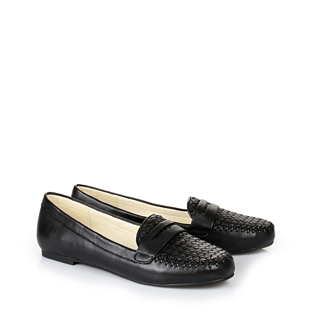 Buffalo Loafer in schwarz