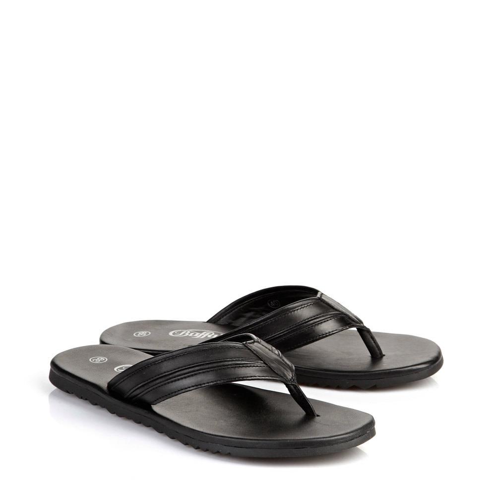 Buffalo Herren Sandale in schwarz