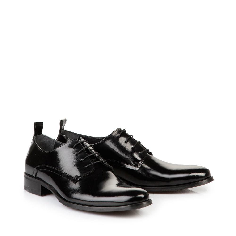 Buffalo Herren-Schnürschuhe in schwarz