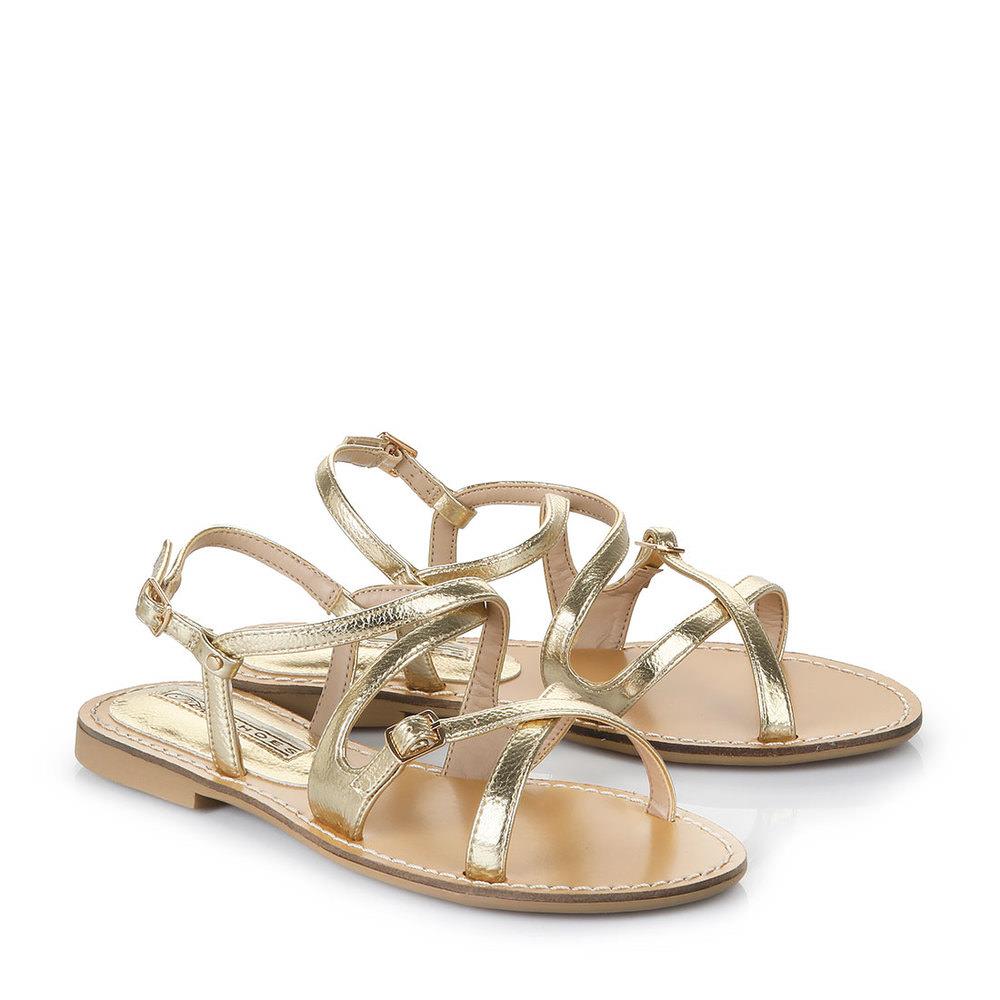 Sandale Buffalo dorée