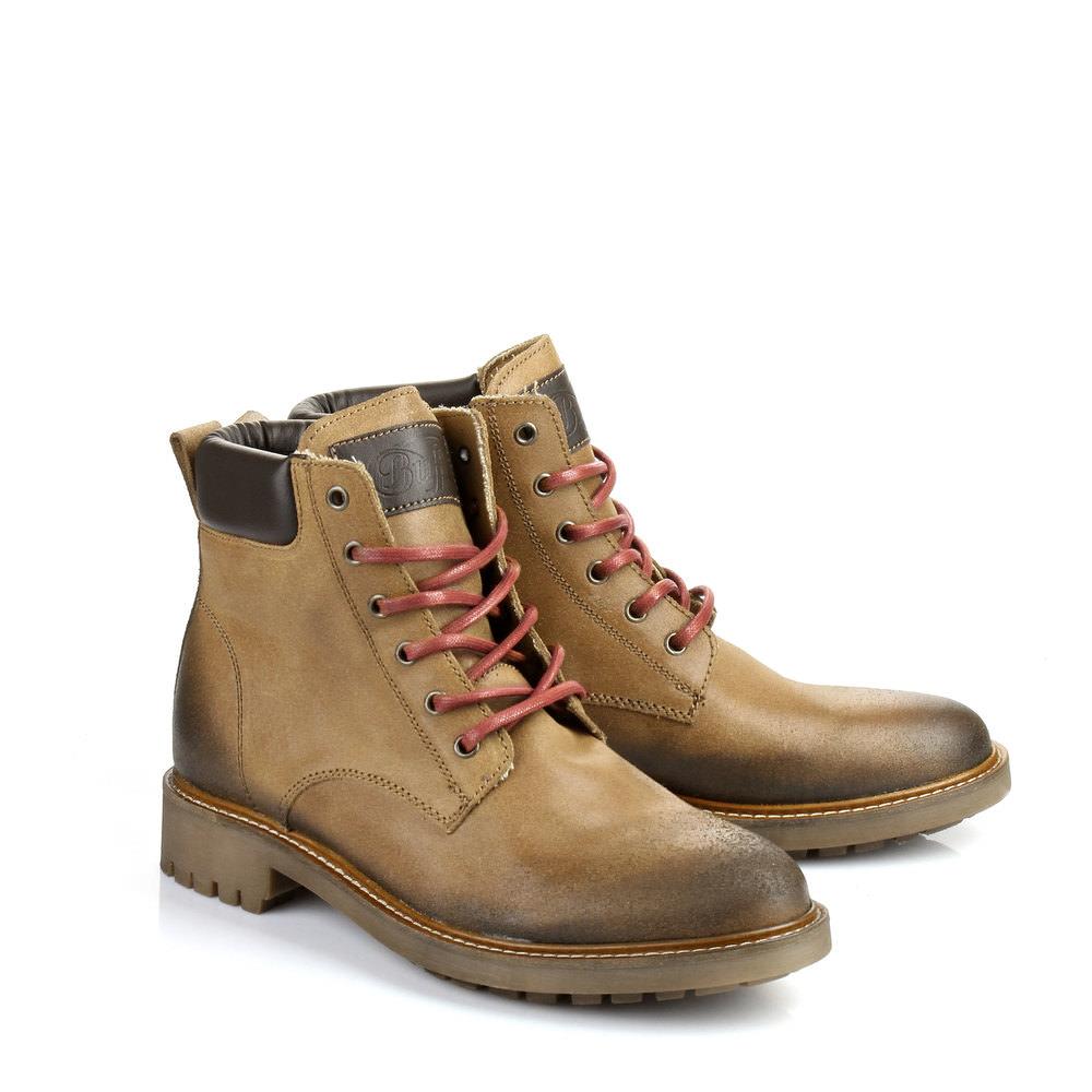 Herren-Boots in cognac