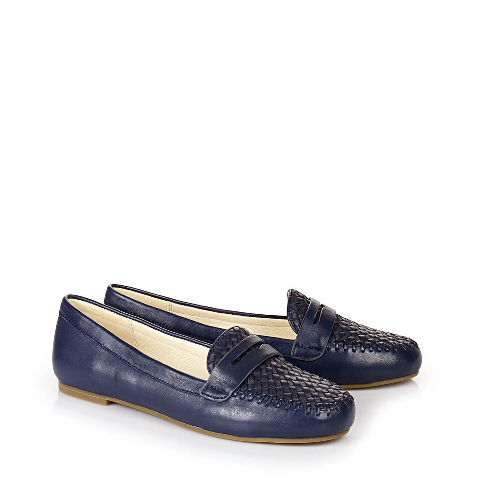 Buffalo Loafer in DUNKELBLAU