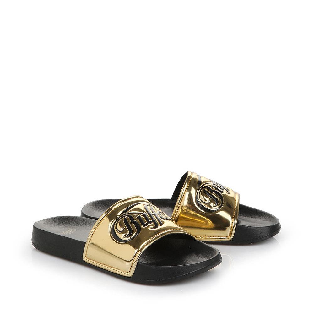 Pool Slide in gold