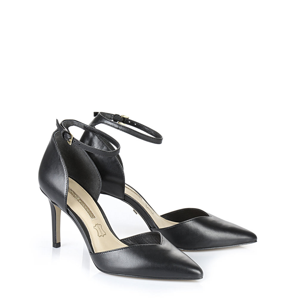 Buffalo Sling Pumps in schwarz