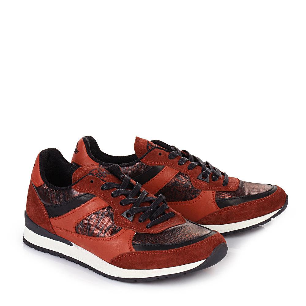 Buffalo Sneaker in rot