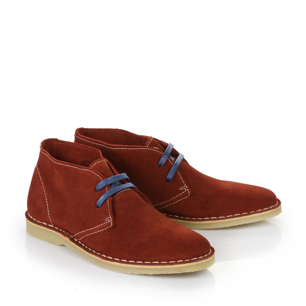 Buffalo Desert Boots in rot