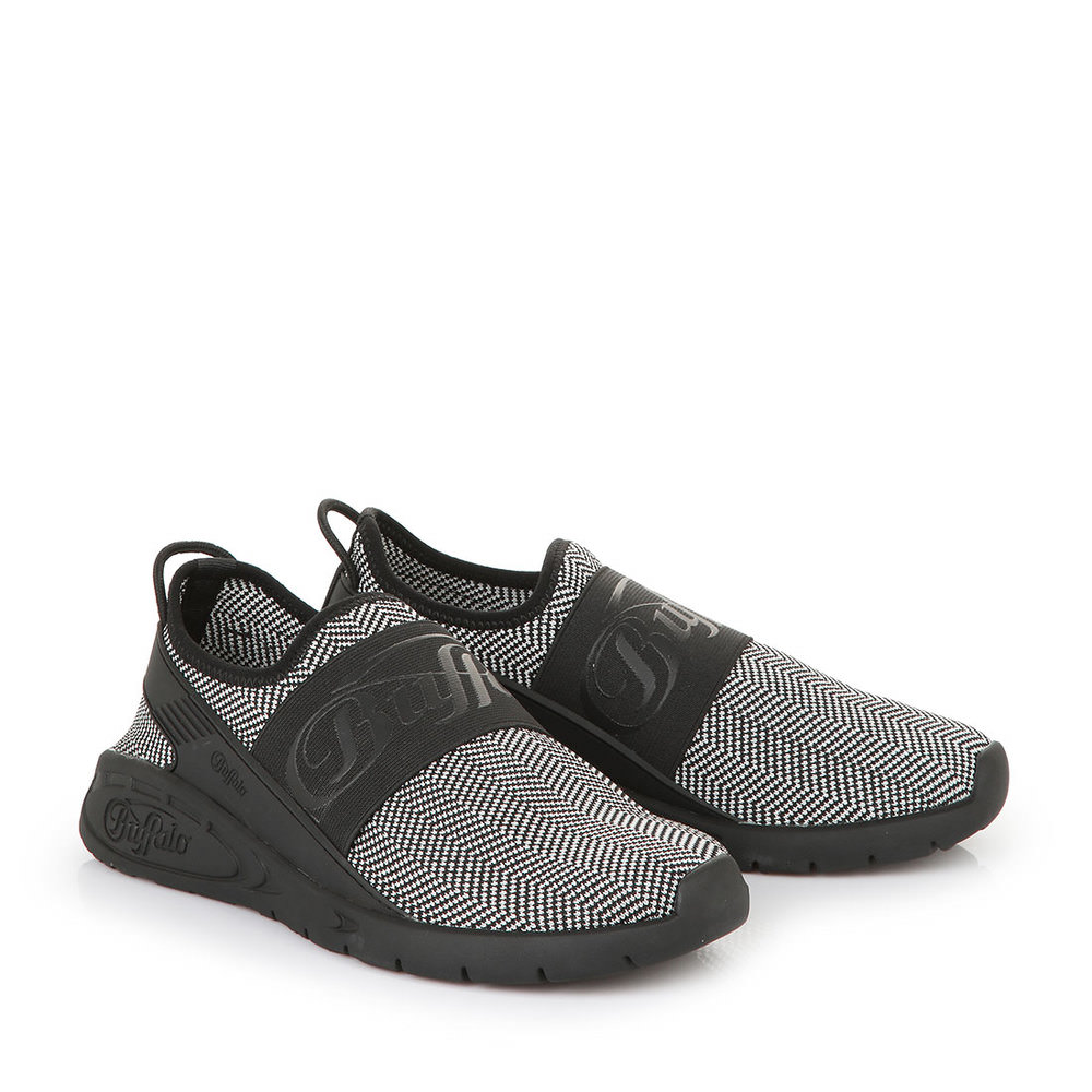 Buffalo Athleisure Sneaker in schwarz