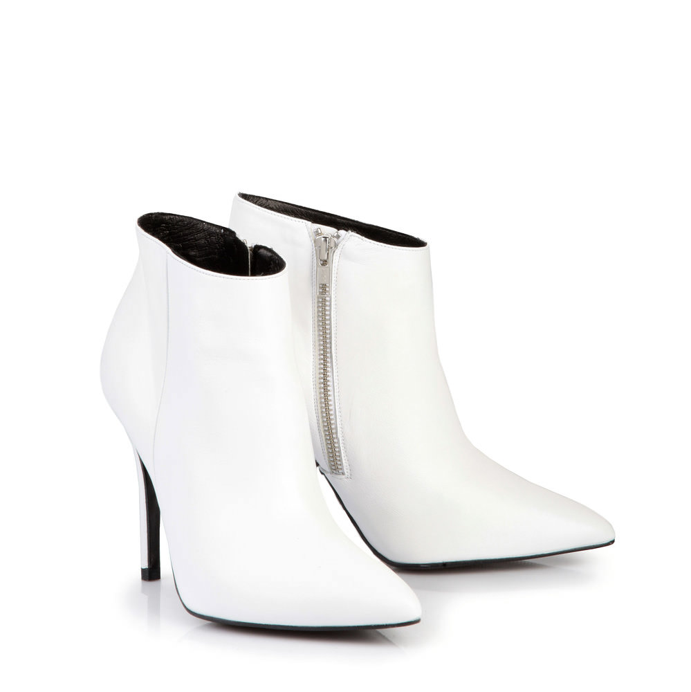 Buffalo Ankle Boots in weiß