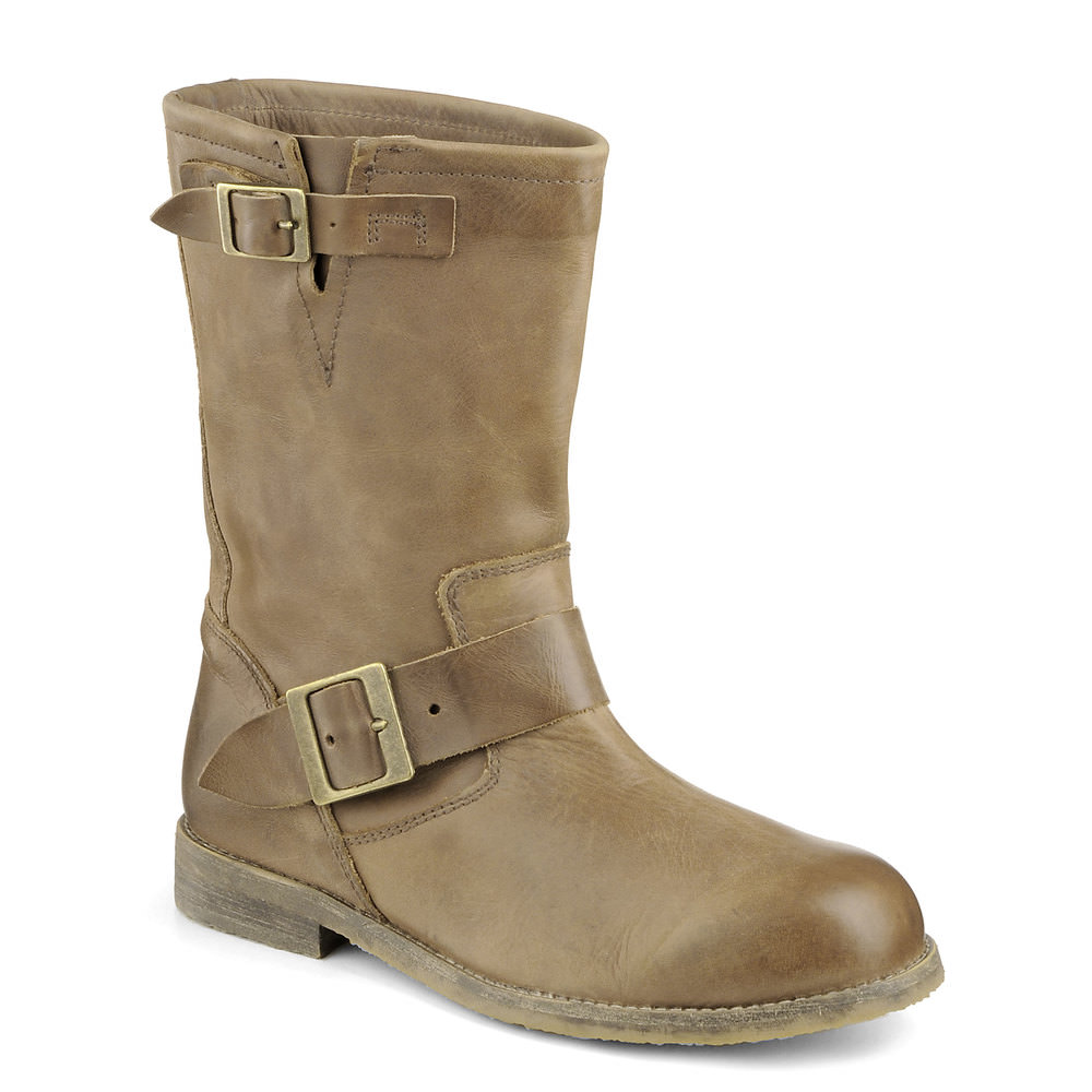 Buffalo Biker Boot in cognac