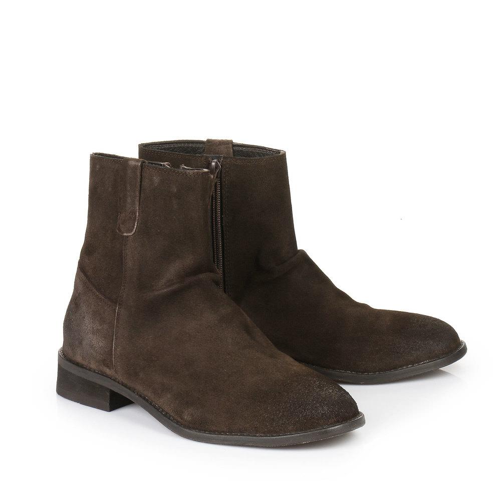 Boots Buffalo pour homme, BRUN FONCÉ