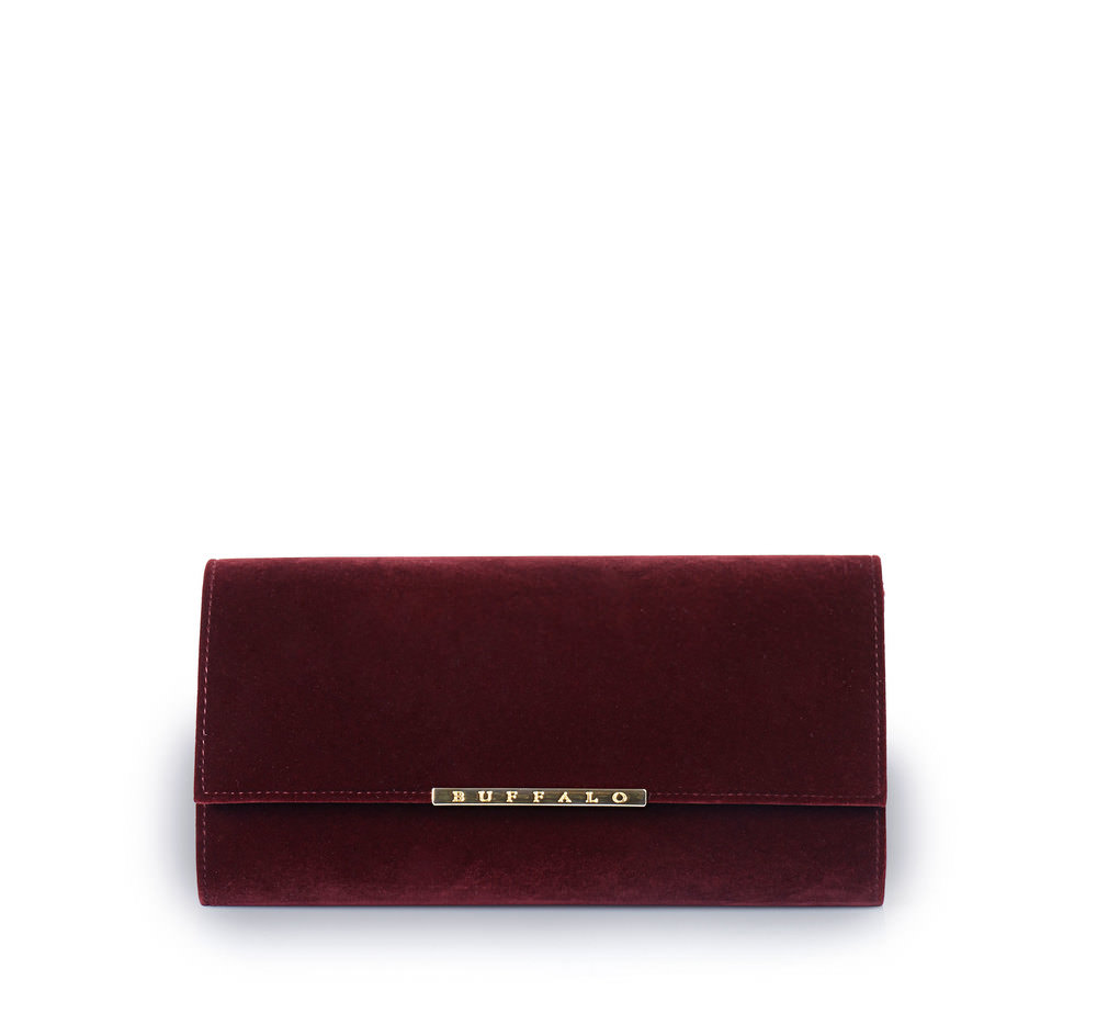 Buffalo Clutch in weinrot Sale Angebote Recklinghausen