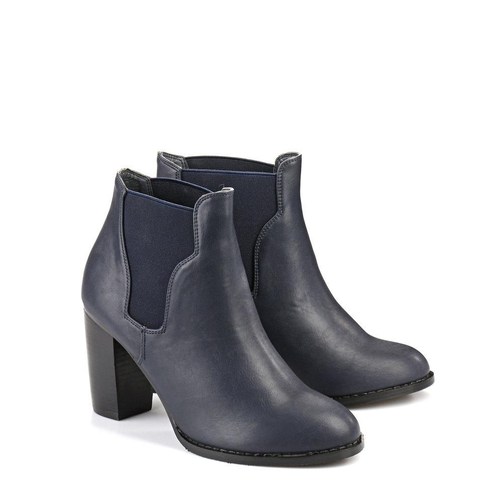 Buffalo Chelsea Boots in DUNKELBLAU