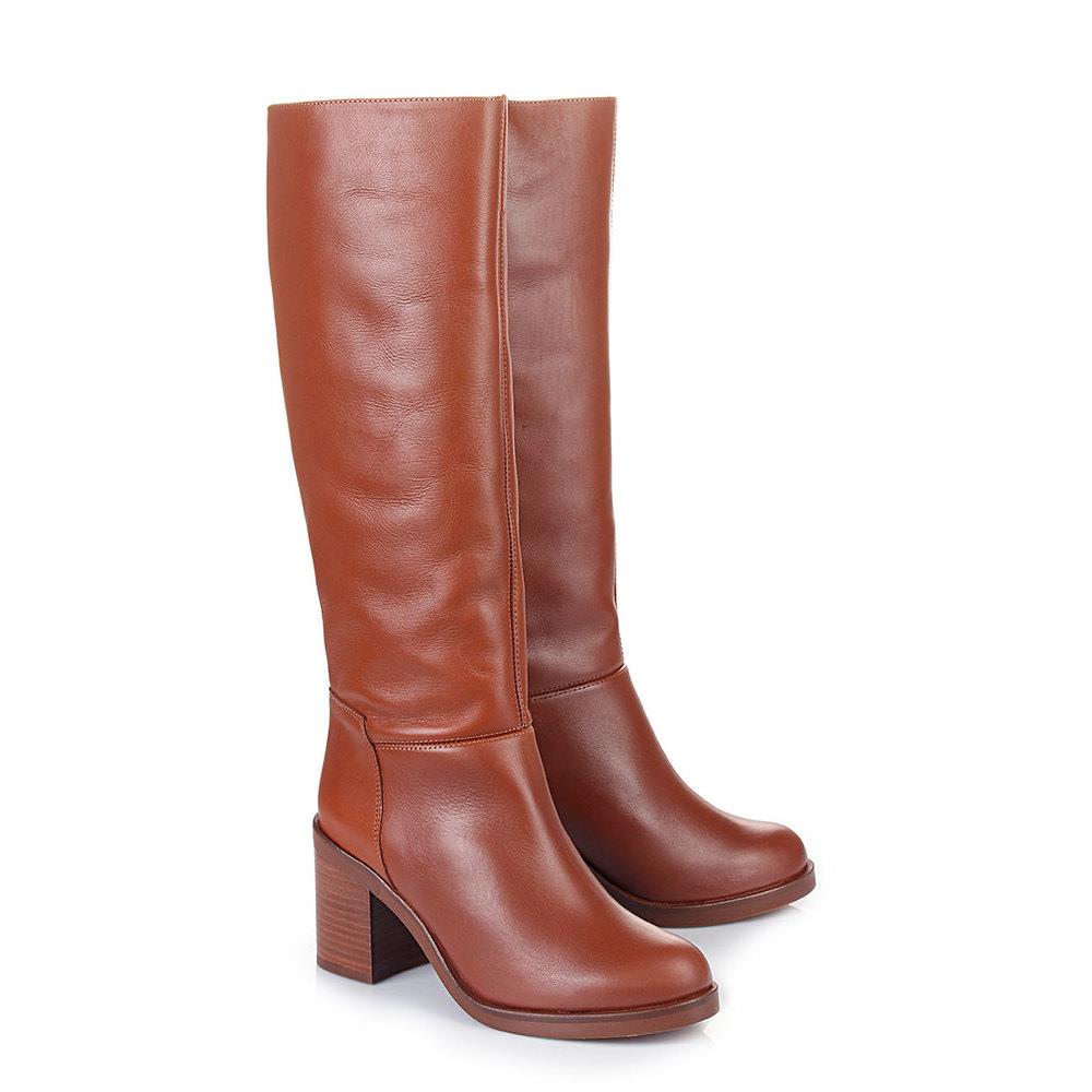 Buffalo Stiefel in cognac aus Leder jetztbilligerkaufen