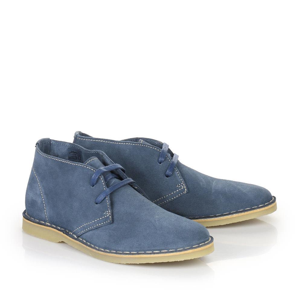 Buffalo Desert Boots in blau