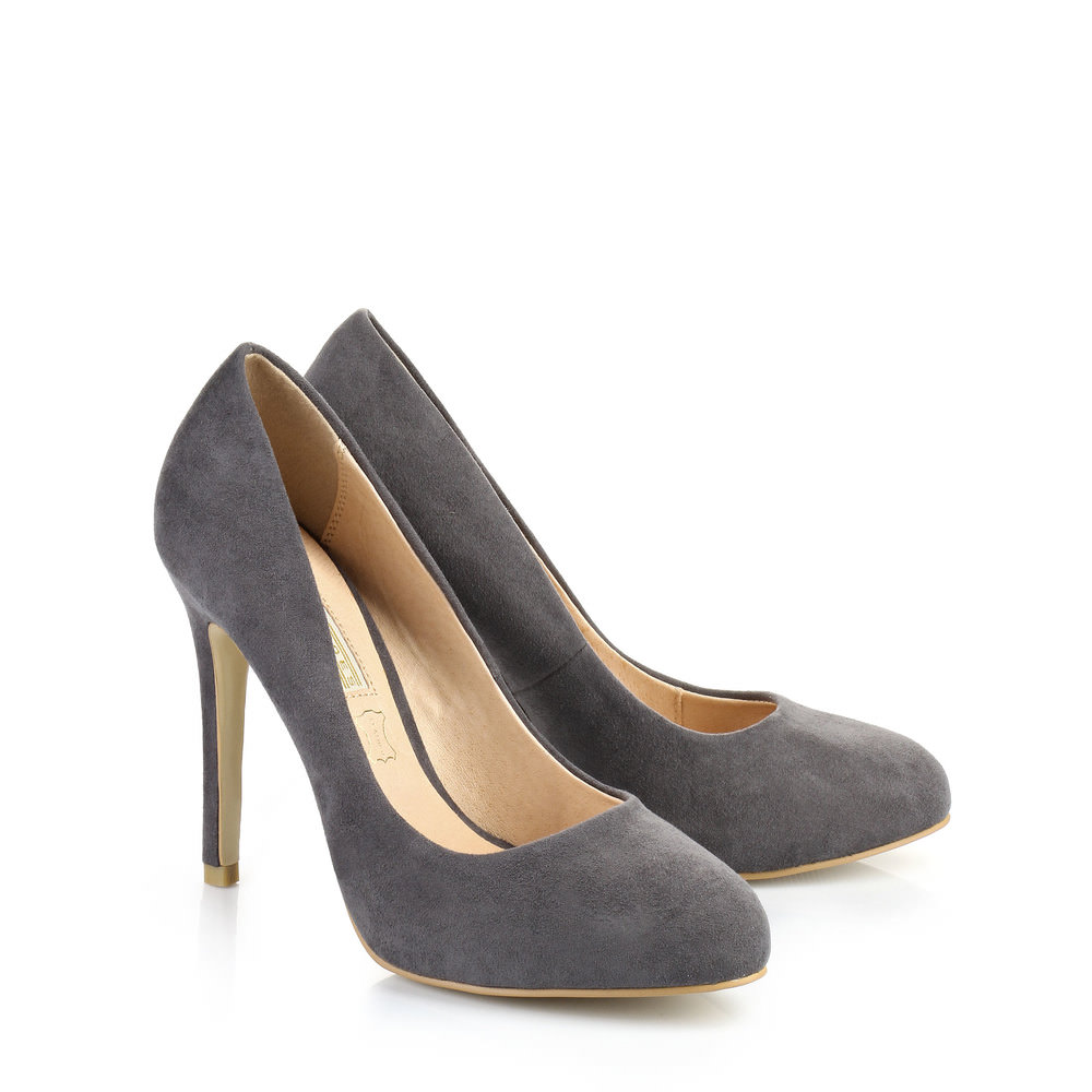 Buffalo Plateau-Pumps in grau