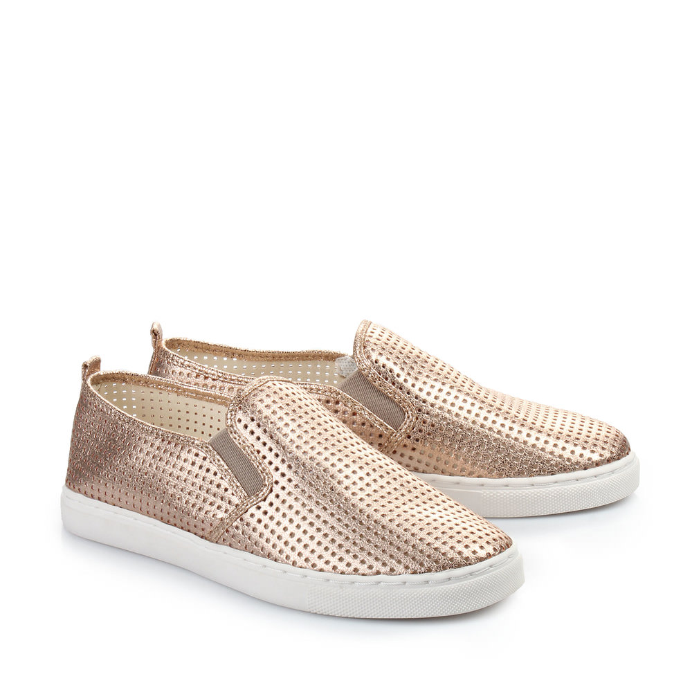 Buffalo Slip On in bronze