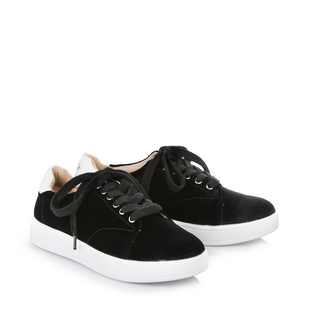 Kathlow Angebote Buffalo Sneaker in schwarz aus Samt