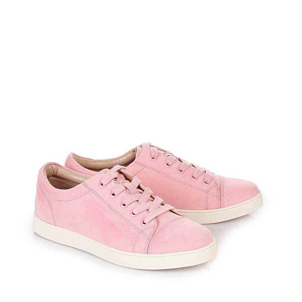 Großkmehlen Angebote Buffalo Sneaker in rosé mit weißer Sohle