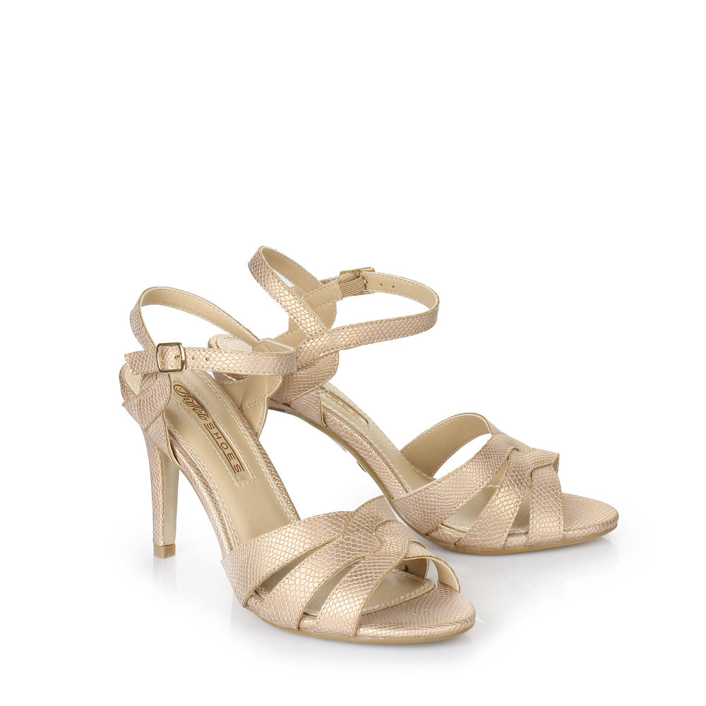 Sandalette in bronze