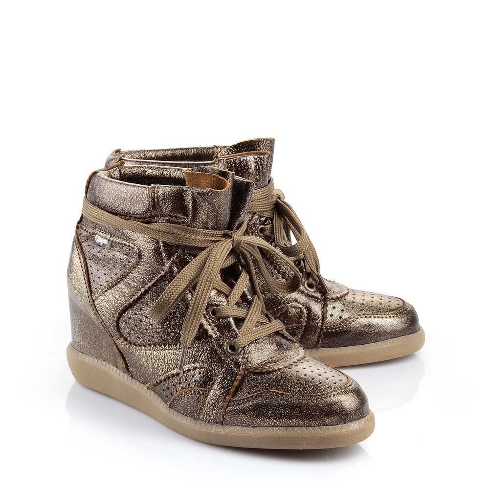 Groß Gaglow Angebote Buffalo Sneaker in bronze Metallic