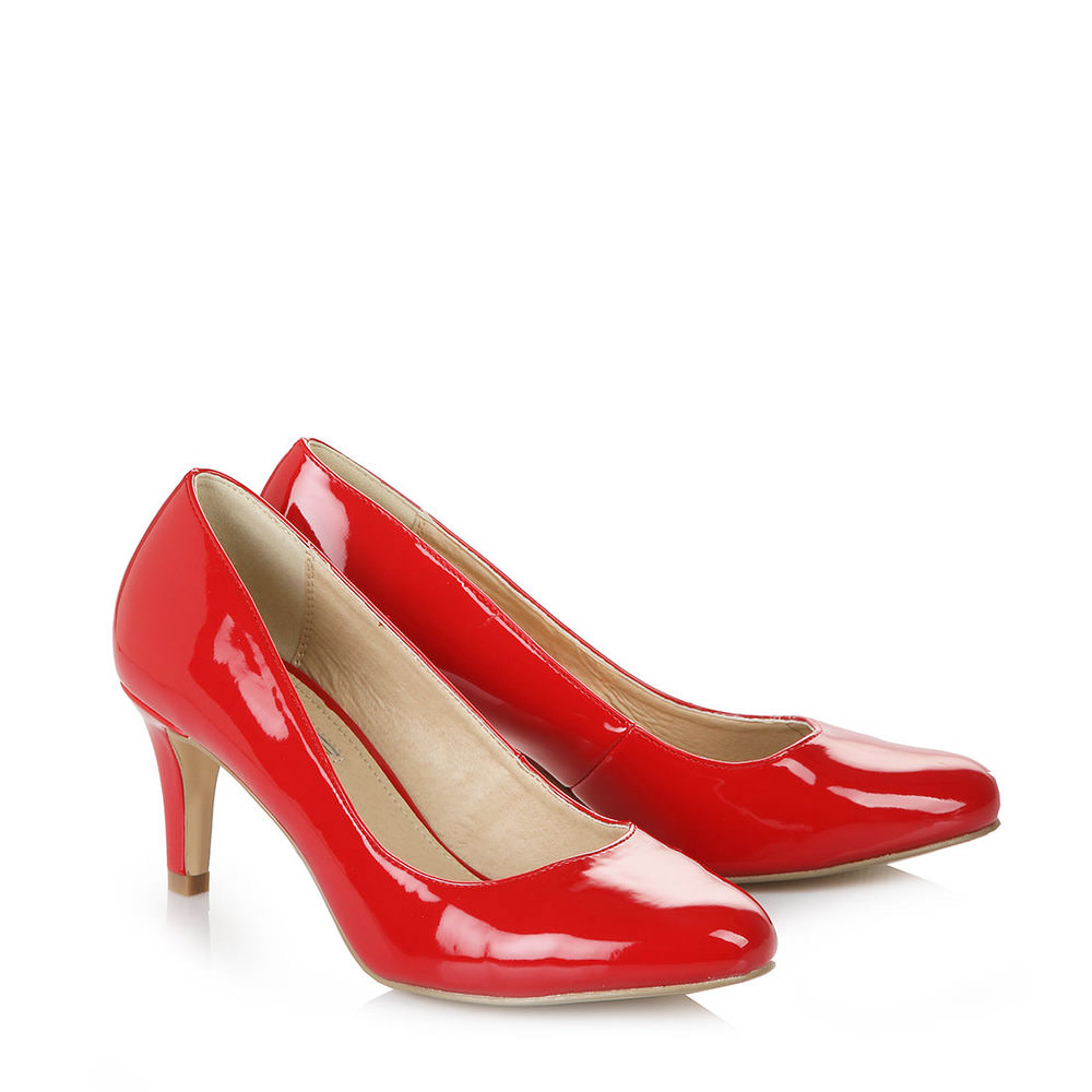 Pumps in rot