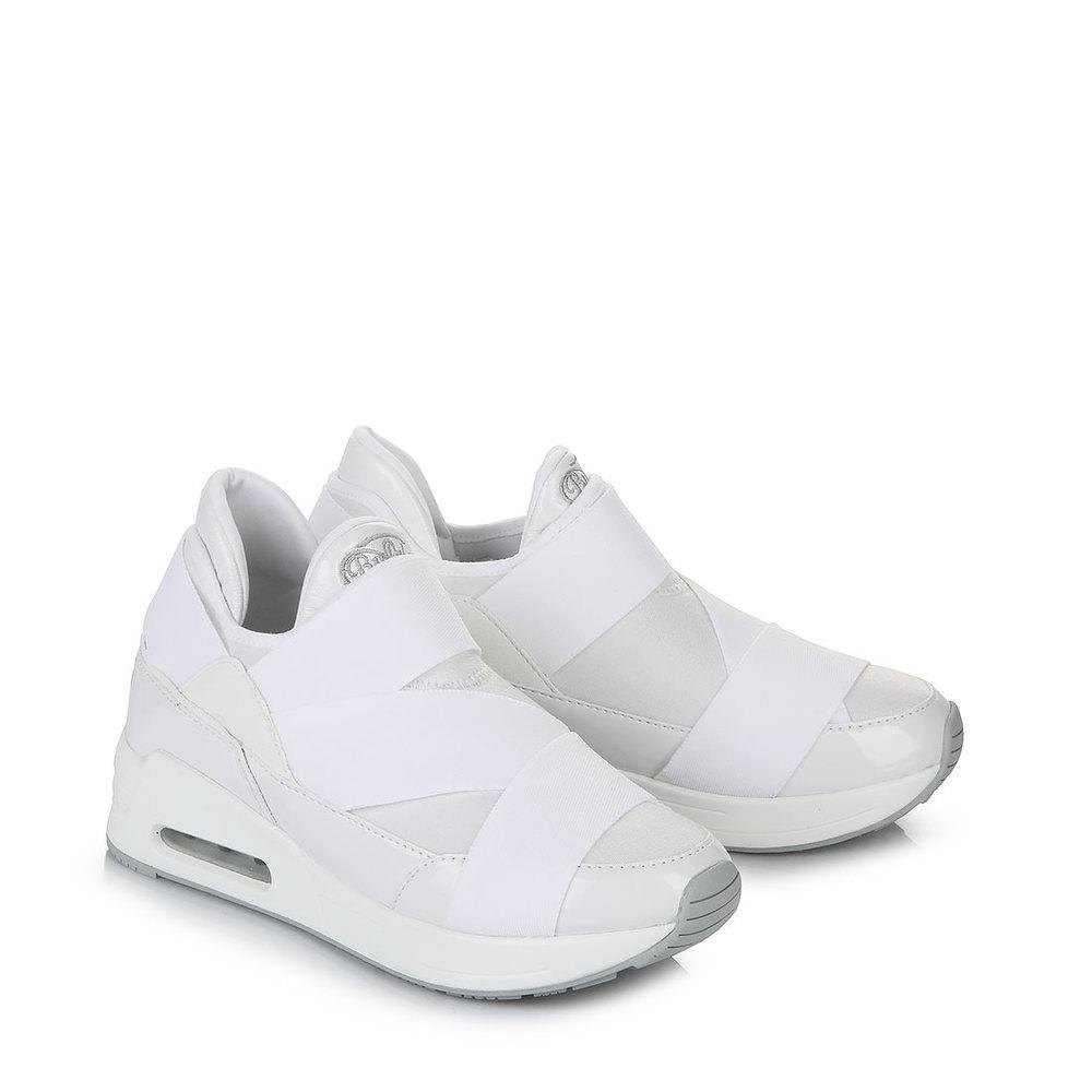 Buffalo Plateau-Sneaker in weiß bei Buffalo