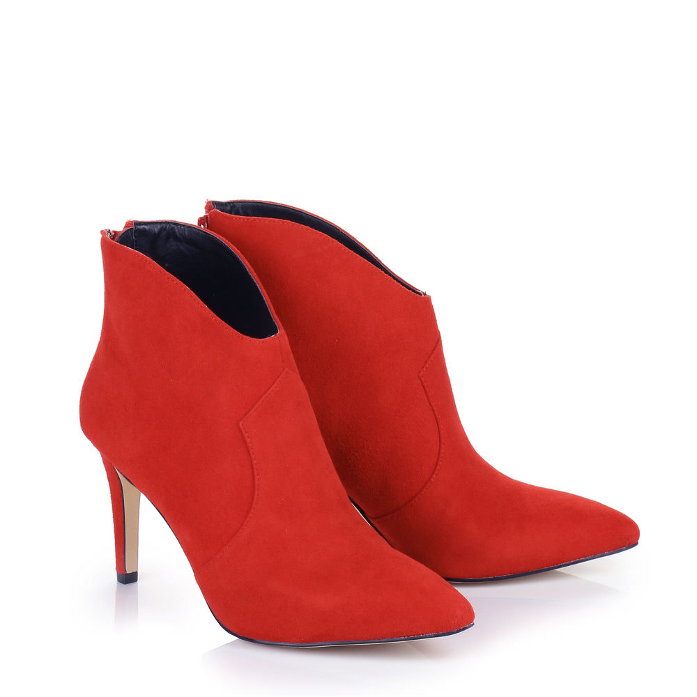 Buffalo Ankle Boots in rot