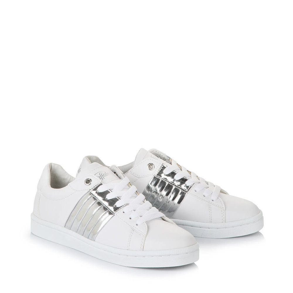 Buffalo Gills-Sneaker in weiß Sale Angebote